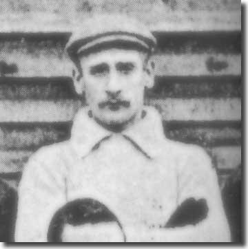 Goalkeeper Harry Bromage had a lengthy and colourful career after joining City from Burton United