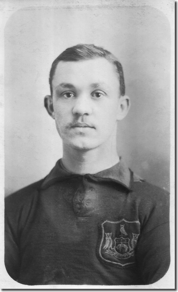 Jack Morris in his City kit in 1906
