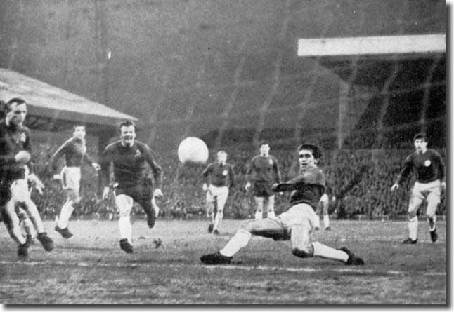 Rod Belfitt slides in to give Leeds the lead at last against Sunderland