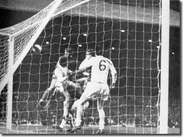 David Webb wins the Cup for Chelsea with a back post header