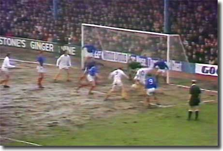 Johnny Giles fires Leeds ahead at Cardiff