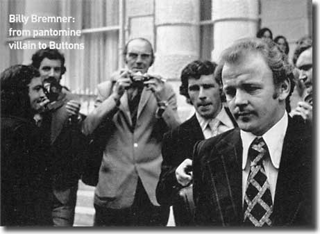 Billy Bremner hounded by the Press