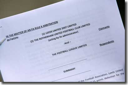 The Arbitration statement handed to the press on 1 May