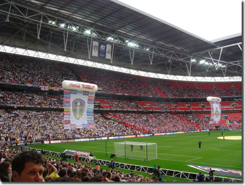 United fans dominate Wembley