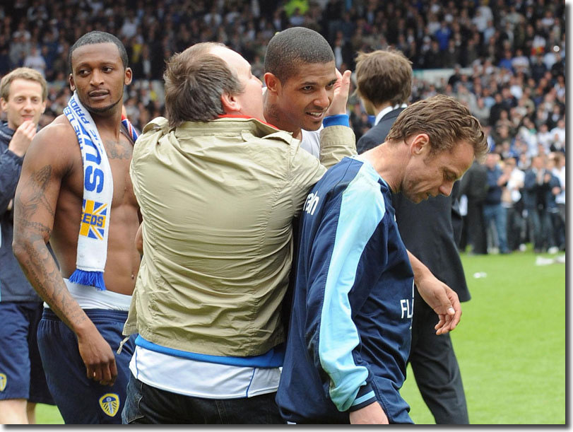 Promotion celebrations in May 2010, but by August Tresor Kandol, Jermaine Beckford and Paul Dickov were forgotten as United prepared for life in the Championship