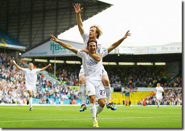 'Somma Time' at Elland Road and Becchio seeks to get in on the act as Elland Road salutes a new hero