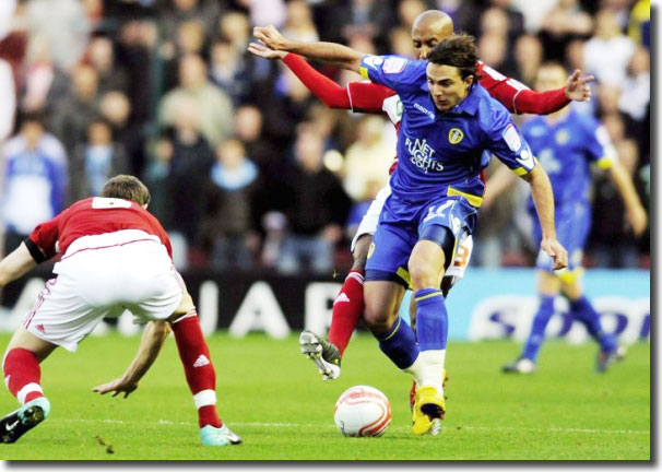 Davide Somma in action at Middlesbrough