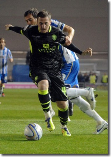 Ross McCormack in action during the 3-3 draw at Brighton