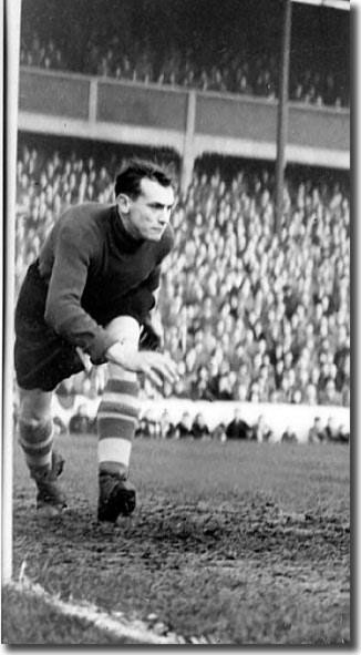 Goalkeeper John Scott was Raich Carter's first choice at the back in 1953-54