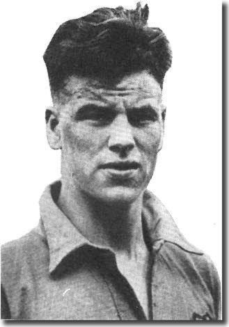 The young John Charles, setting out on a marvellous footballing career