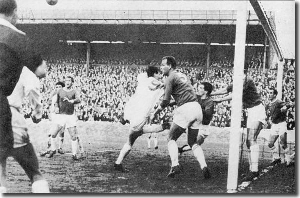 John Charles defied his old team mates when Cardiff City met Leeds United