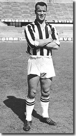 John Charles after his big money move to Turin in 1957