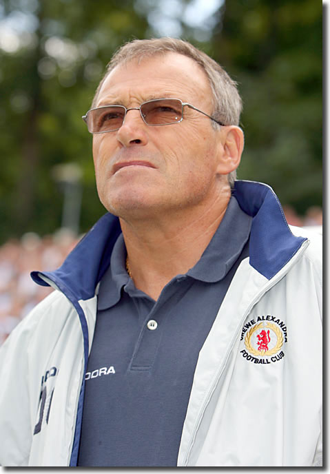 Sutton defender Dario Gradi went on to enjoy a lengthy career as boss of Crewe