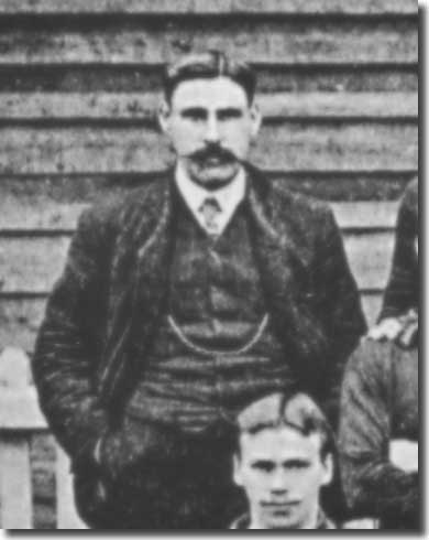 George Swift, who was right hand man to Gillies, pictured in 1905