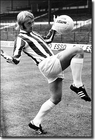 Greenhoff shows off the style