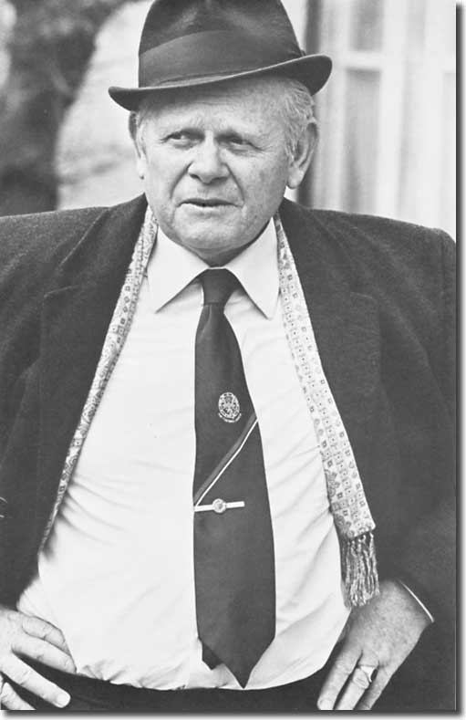 Football League secretary Alan Hardaker was a long standing critic of Don Revie