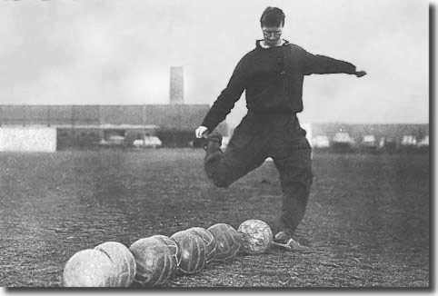 Training in the 1960's with the leather cannonballs