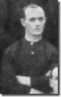 Jack White in a Leeds City team group in 1908