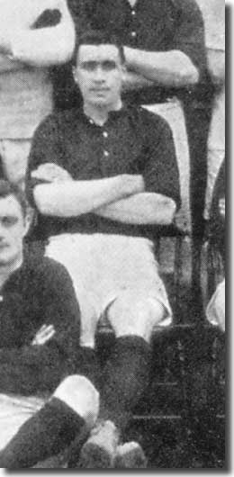 Jock Hamilton in a City line up in 1908
