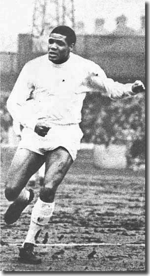 Albert Johanneson got a run in the Leeds team at the tail end of 1960-61 after arrving at the club from South Africa