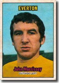 Everton's Johnny Morrissey had provoked anger from Charlton