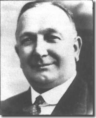The legendary Herbert Chapman, the first of the professional football managers
