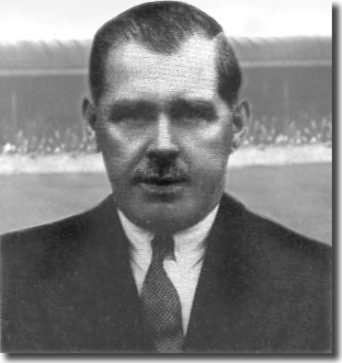 Former Leeds City player Dick Ray was one of the men elected onto the Leeds United management committee and he became the club's first manager