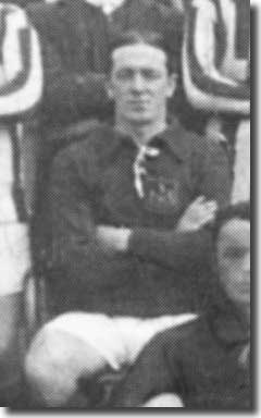 Tom Mulholland in a Leeds City line up in 1911