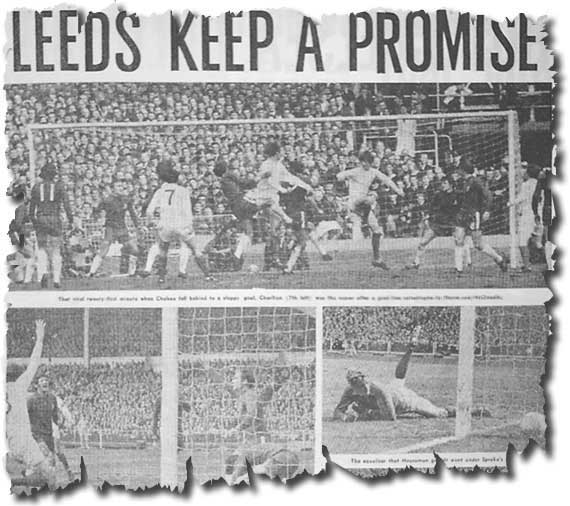 The Sunday Mirror of 12 April 1970 features the previous day's Cup final