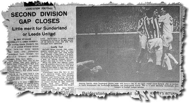 Yorkshire Evening Post 1 May 1963 - Chelsea 2 Leeds 2 including pic of Ian Lawson scoring his first goal