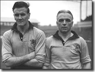 Don Revie and Raich Carter - in theory the dream ticket for Hull City