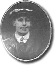 Richard Guy in 1908 after signing for Leeds