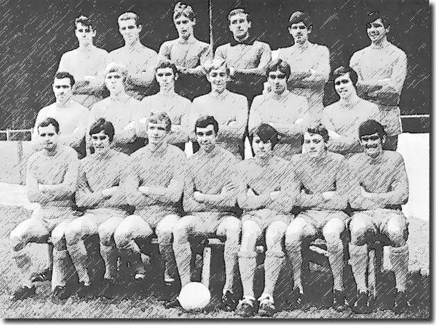 Storrie is on the far left of the middle row of this Rotherham squad picture in 1968. A young Dave Watson is two men to Storrie's left