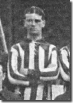 Sam Johnson in a City line up in 1911/12