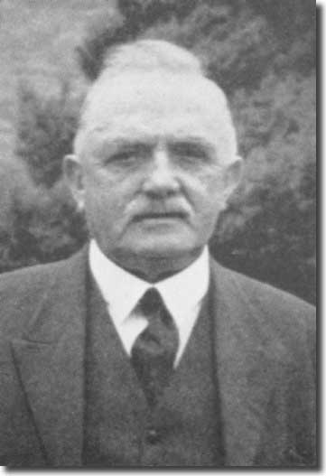 Tom Charnley, Fred Howarth's predecessor as secretary to the League and his father-in-law